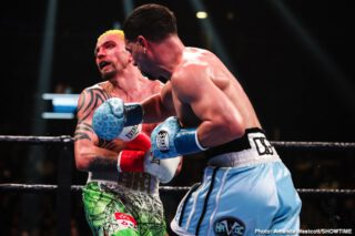 """Francisco Santana - Two-division world champion Danny """"Swift Garcia scored a dominant unanimous decision victory over Ivan """"El Terrible"""" Redkach in their WBC Welterweight Title Eliminator Saturday night, headlining the action live on SHOWTIME from Barclays Center, the home of BROOKLYN BOXING™, in an event presented by Premier Boxing Champions."""