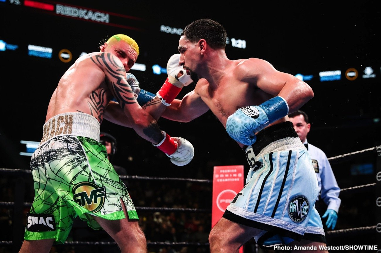 Danny Garcia - Danny Garcia will be getting another title shot when he faces Errol Spence Jr. for his IBF/WBC welterweight belts in September. This is the match that was going to take place on January 25 on pay-per-view, but Spence's horrible car crash in late last year derailed the fight.