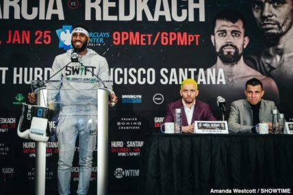 Arnold Khegai, Danny Garcia, Francisco Santana, Ivan Redkach, Jarrett Hurd, Stephen Fulton - Boxing News