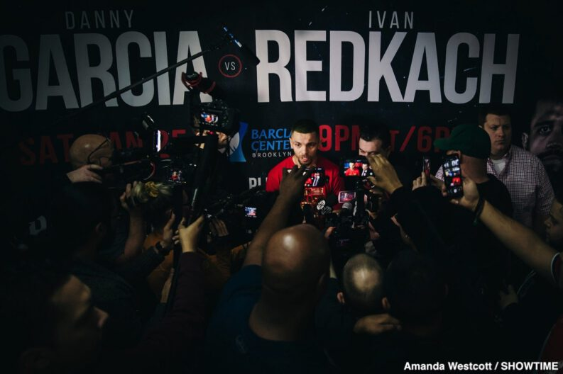 Danny Garcia Ivan Redkach Jarrett Hurd