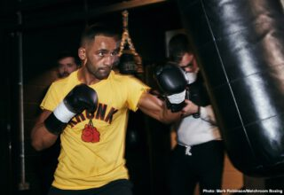 Kid Galahad - Kid Galahad says he has unfinished business with reigning IBF World Champion Josh Warrington ahead of his Final Eliminator clash with Claudio Marrero on the undercard of Kell Brook vs. Mark DeLuca at the FlyDSA Arena in Sheffield on Saturday February 8, shown live on Sky Sports in the UK and DAZN in the US.