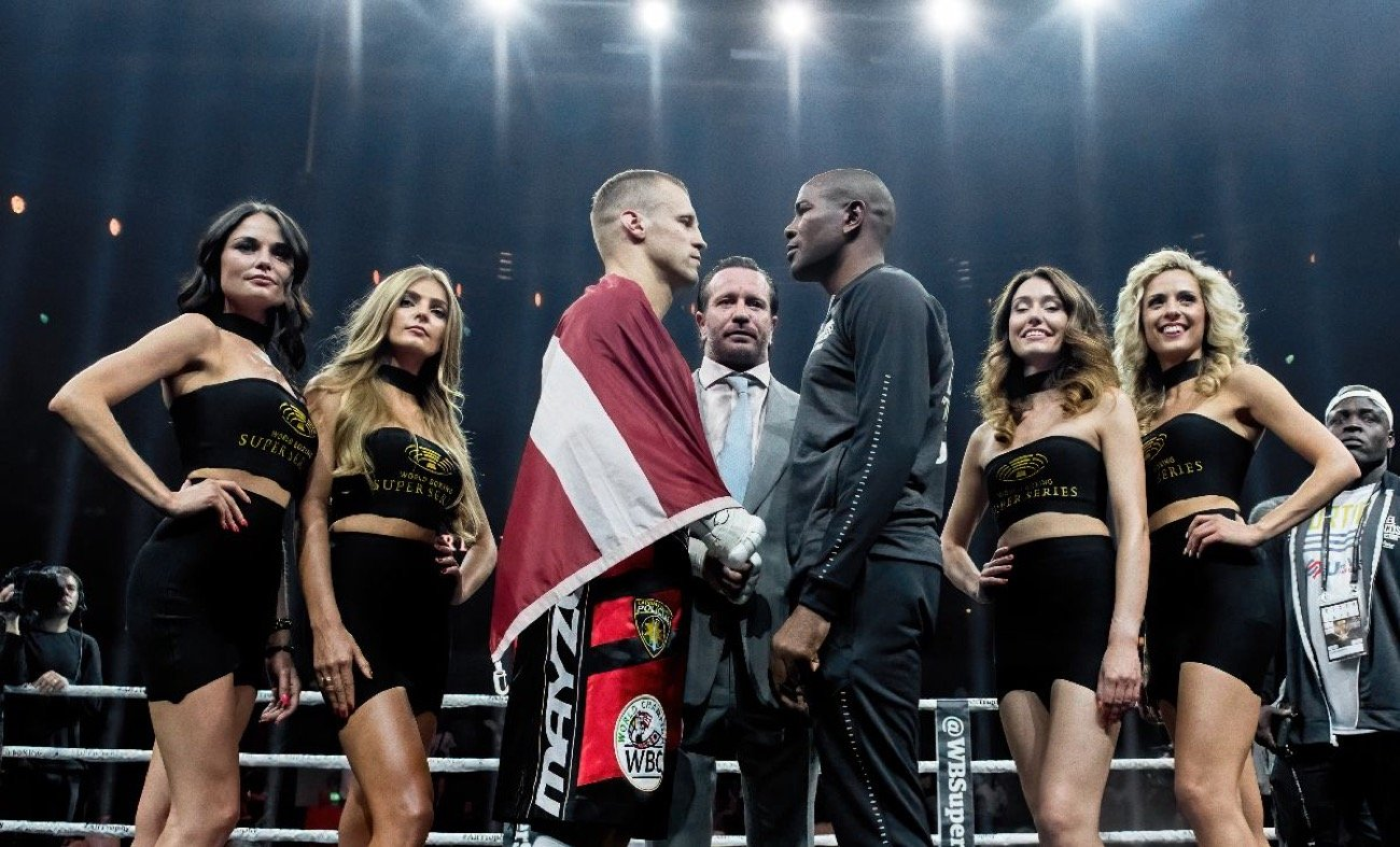 Mairis Briedis, Yuniel Dorticos - WBSS Cruiserweight Final to be shown LIVE on Sky Sports in the UK - Sky Sports, the UK's premier sports broadcaster, includes the massive Mairis Briedis vs Yuniel Dorticos Ali Trophy showdown to its schedule on 26 September.
