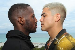 Tevin Farmer - JoJo Diaz is ready to rip the IBF Super-Featherweight title from Tevin Farmer and ending the war of words that sees him challenge for the belt at the Meridian at Island Gardens in Miami on Thursday night, live on DAZN in the US and on Sky Sports in the UK.