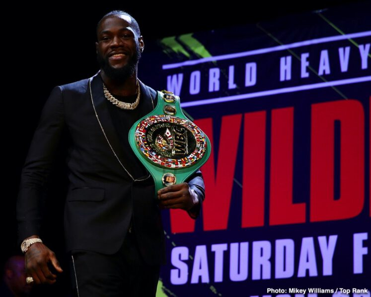 Deontay Wilder ESPN pay-per-view Fox Sports Pay-Per-View Tyson Fury