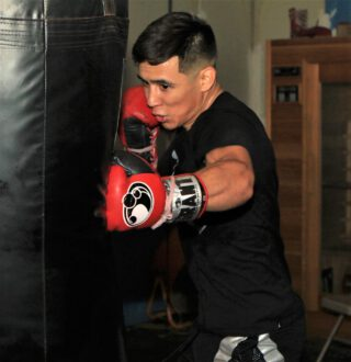 Omar Juarez - Exciting, undefeated super lightweight prospect Omar Juárez shared updated from training camp as he prepares to battle Willie Shaw in a special attraction on the return of FOX PBC Fight Night on FOX, FS1 and FOX Deportes, this Saturday, August 8 from the Microsoft Theater in Los Angeles.