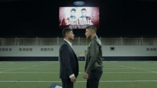 Mikey Garcia - Mikey Garcia and Jessie Vargas met face-to-face in at Ford Center at The Star in Frisco, Texas ahead of their Welterweight showdown at the venue on Saturday February 29, live on DAZN in the US and on Sky Sports in the UK – and tickets go on sale at 10am (CST) today.