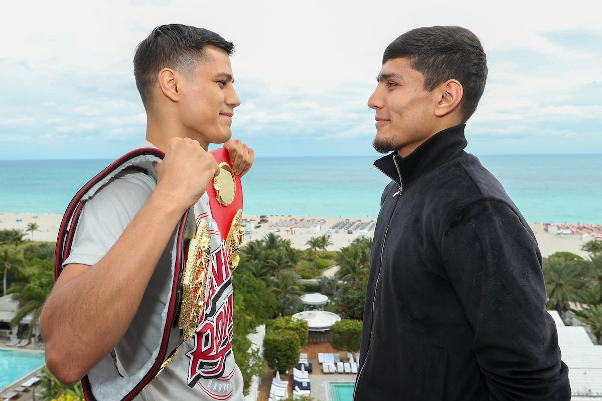 Daniel Roman - Murodjon Akhmadaliev is chasing history as he prepares to challenge WBA and IBF World Super-Bantamweight champion Daniel Roman at the Meridian at Island Gardens in Miami on Thursday January 30, live on DAZN in the US and on Sky Sports in the UK.