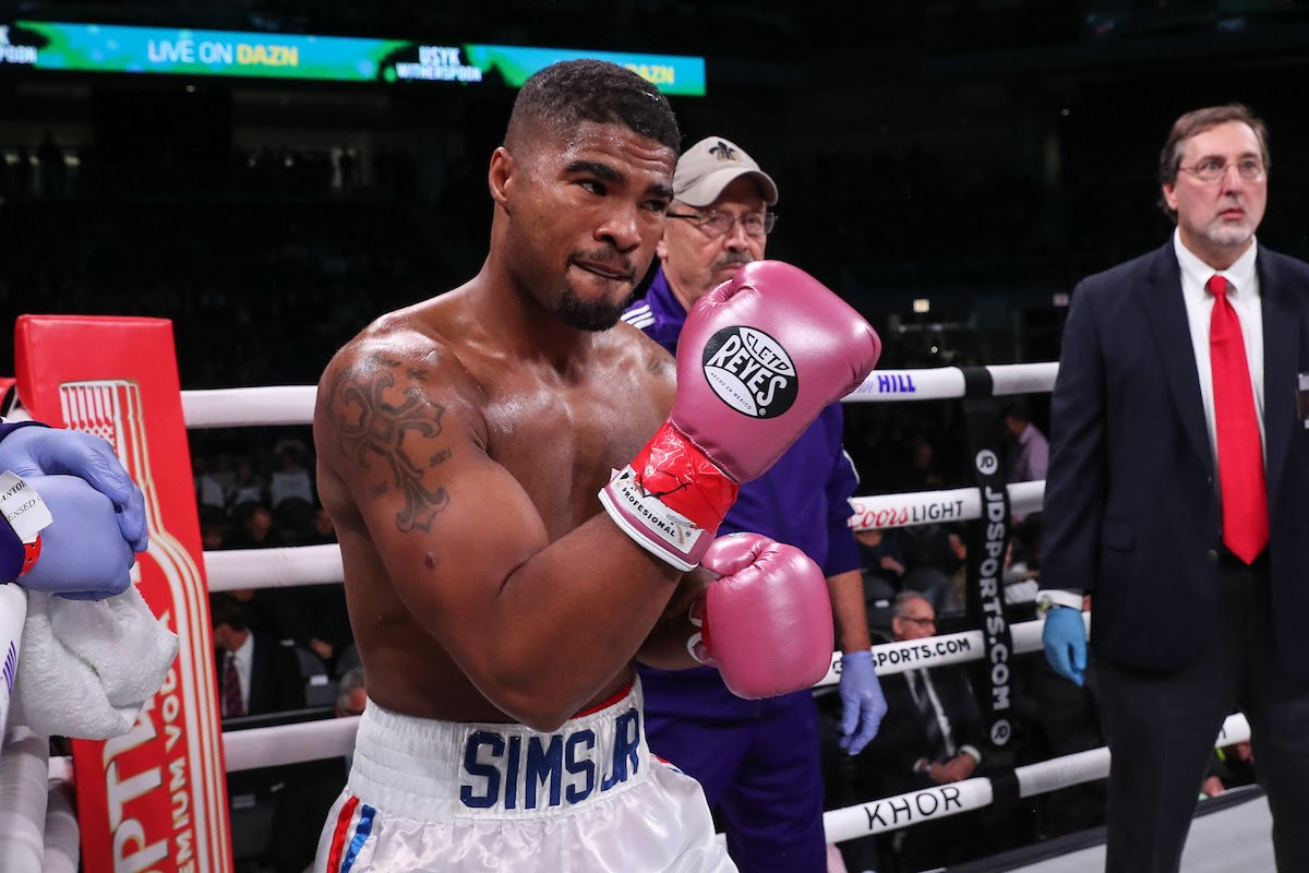 Anthony Sims, DAZN, Roamer Alexis Angulo - Anthony Sims Jr will fight for his first pro title as he meets Roamer Alexis Angulo for the WBO Latino Super-Middleweight title on Thursday January 30 at the Meridian in Island Gardens in Miami, live on DAZN in the US and on Sky Sports in the UK.