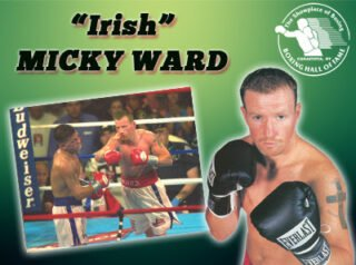"Micky Ward - The International Boxing Hall of Fame announced today ""Irish"" Micky Ward will attend the 2020 Hall of Fame Weekend set for June 11-14 in ""Boxing's Hometown."""