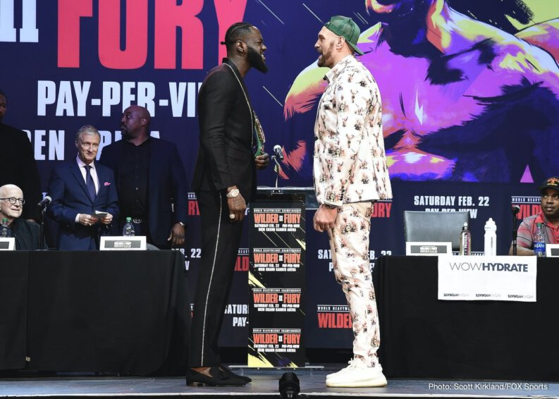 Deontay Wilder Tyson Fury Boxing News Top Stories Boxing