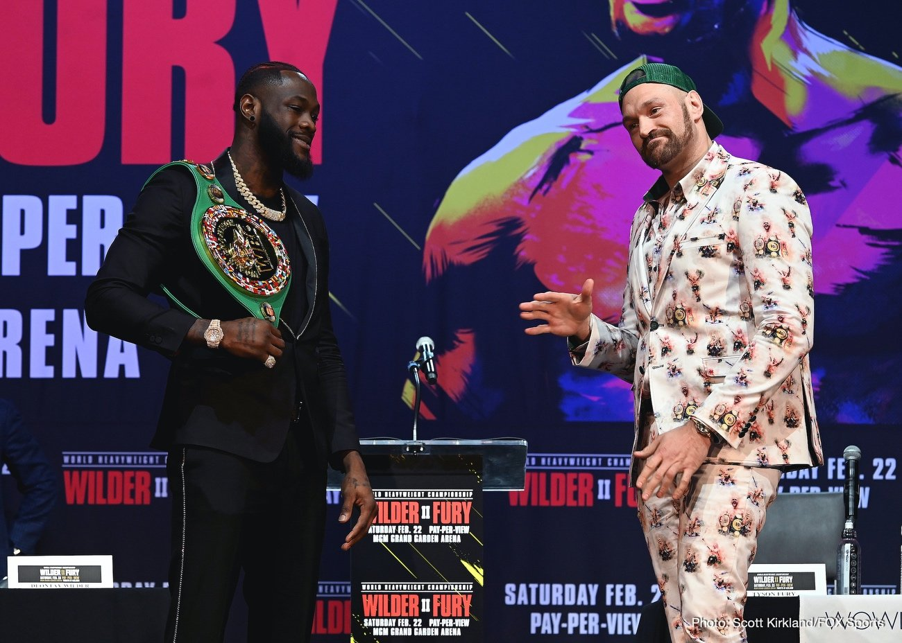 Deontay Wilder Tyson Fury Boxing News