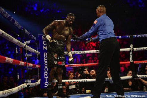 Deontay Wilder, Tyson Fury - Boxing News