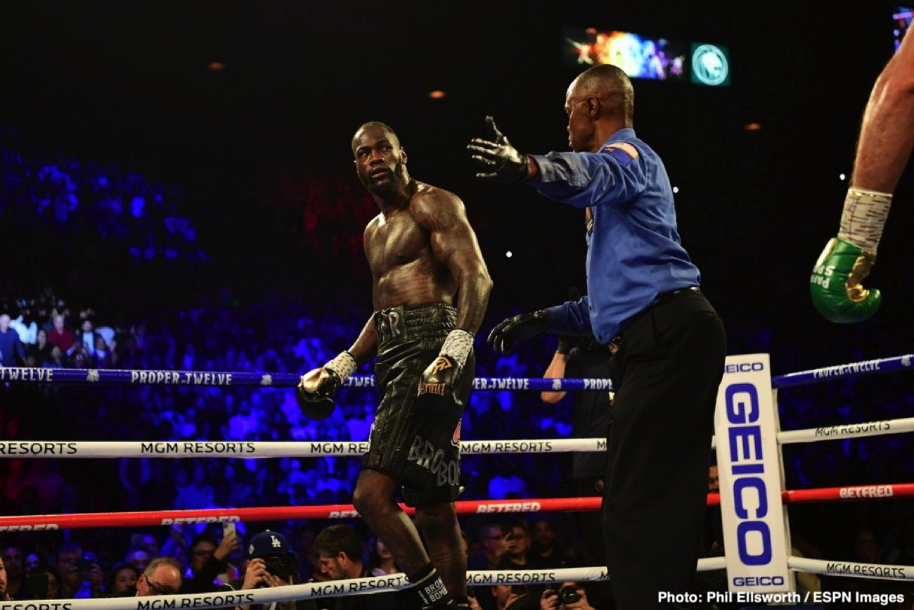 "Deontay Wilder, Tyson Fury - Was there ""something wrong"" with Deontay Wilder when he stepped through the ropes for his return fight with Tyson Fury in February? So shockingly one-sided was the fight, with Fury having things all his own way, that yes, plenty of people felt there was an issue with Wilder. Well, it turns out there was. Junior Fa, who served as the WBC heavyweight champ's sparring partner for the Fury rematch, has told Sky Sports that Wilder injured a bicep towards the end of camp."