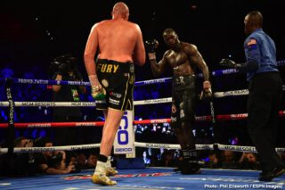 Tyson Fury - Various news outlets are reporting some breaking news that suggests the third fight between rival heavyweights Tyson Fury and Deontay Wilder is now OFF, this due to how the rematch clause that stipulated there would be a third fight between the two has now either expired or is close to expiring.