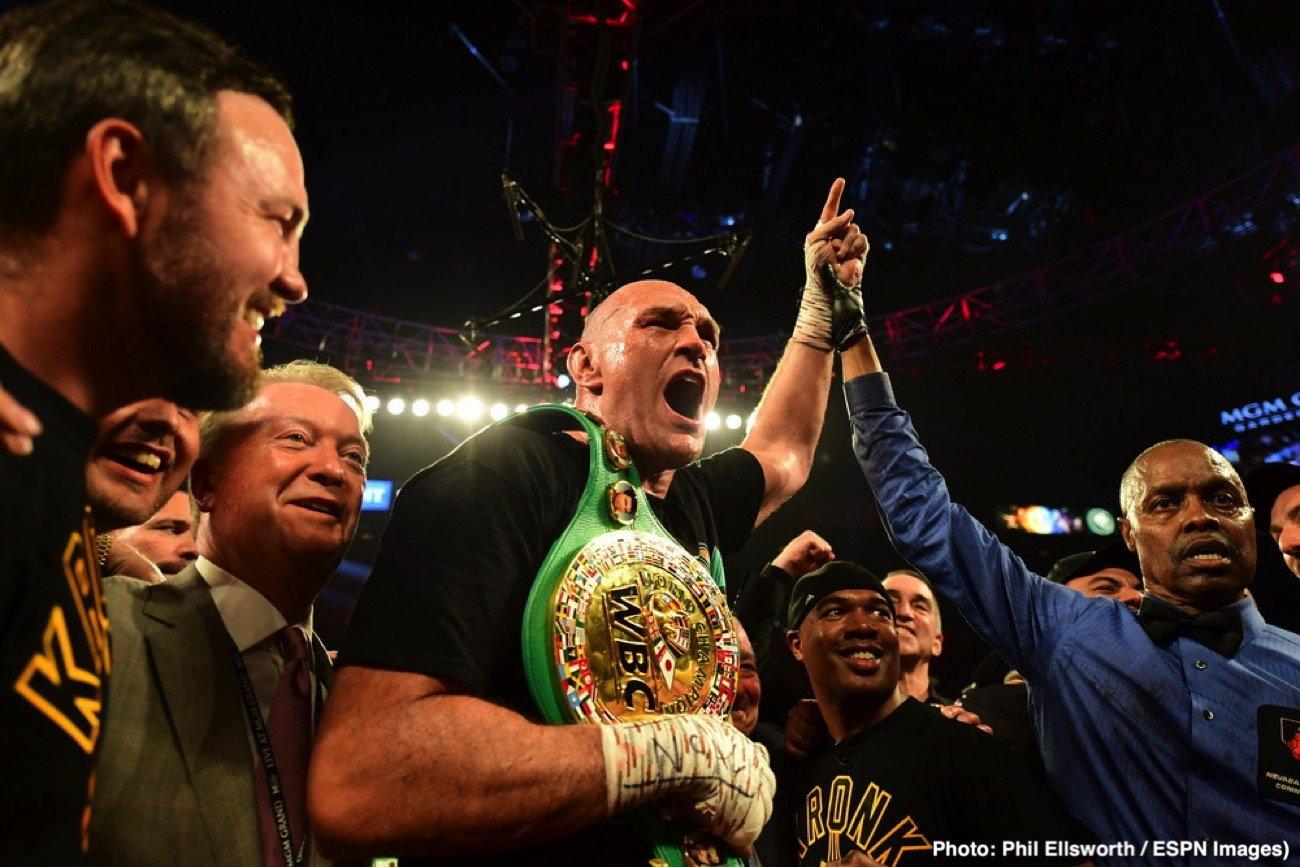 Deontay Wilder, John Fury, Tyson Fury - Boxing News