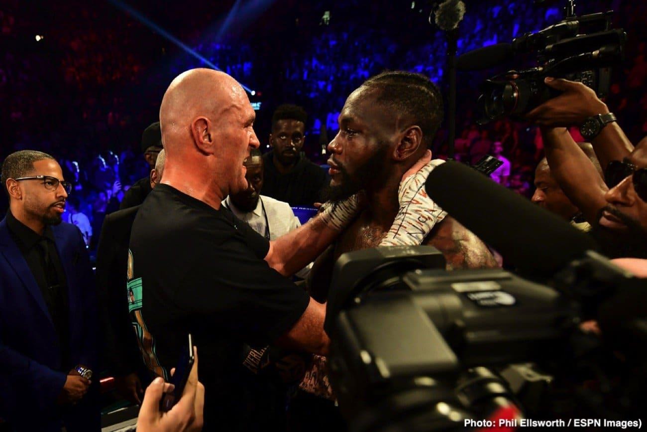 Deontay Wilder, Muhammad Ali, Tyson Fury - Boxing News