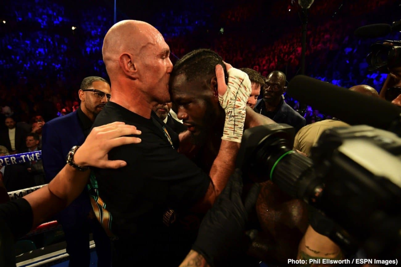 Deontay Wilder, Tyson Fury - It seems just about everyone watched last night's big heavyweight rematch between Tyson Fury and Deontay Wilder - even the President of The United States! News has broken of how Donald Trump (who or course used to host big fights in his hotels and casinos before he achieved the highest political order of the land) tuned in to the Fury-Wilder sequel, and The Don was impressed enough to extend an invitation to both men to visit the White House.