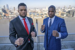 Eddie Hearn - Eddie Hearn is saying the winner of this Saturday's heavyweight match between Daniel Dubois and Joe Joyce could face Oleksandr Usyk for the vacant WBO title in 2021.
