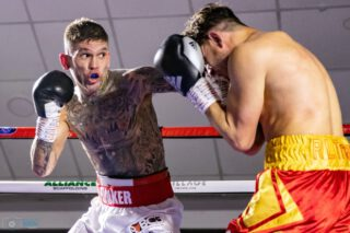 Liam Davies - Image (c) Manjit Narotra - Kane Baker and Liam Davies put in solid displays on Friday as they warmed-up for their upcoming English Title tilts.