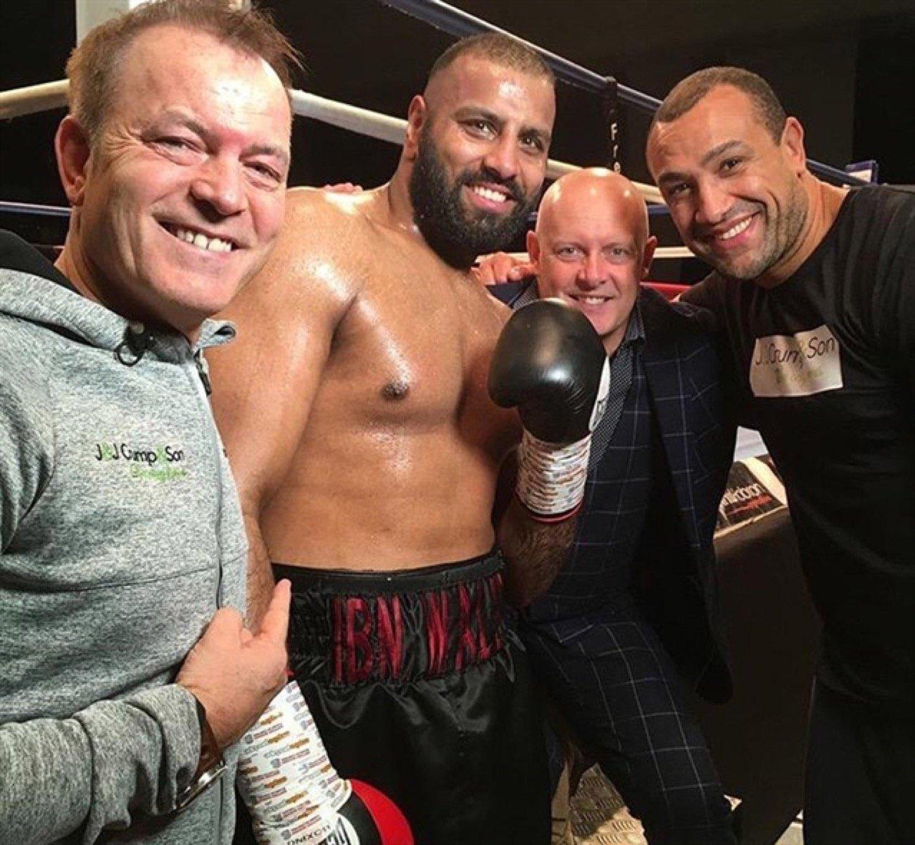 Kash Ali - British Boxing