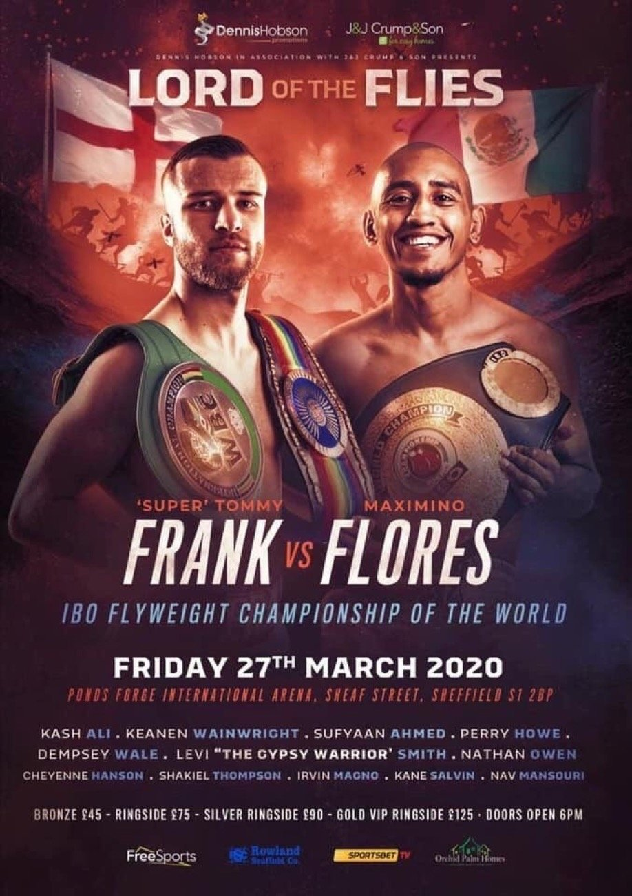 Tommy Frank - British Boxing