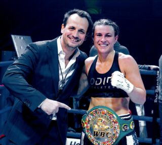 Katharina Thanderz - Katharina Thanderz says she wants to fight Terri Harper next having witnessed the British boxer dethrone Eva Wahlstrom for the WBC Female World Super Featherweight title on Saturday in Sheffield, England.