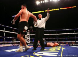 "Dave Allen, Dorian Darch - Tonight on the Kell Brook comeback card in Sheffield, heavyweight Dave Allen made a return to action himself, and ""The White Rhino"" made his return a winning one. Facing Welshman Dorian Darch, 12-11-1(1) coming in, Allen got the job done in quite impressive fashion."