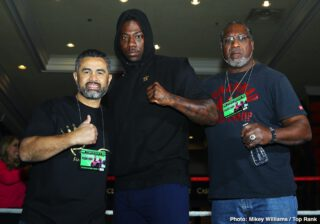 Charles Martin - Fighters competing on the Deontay Wilder vs. Tyson Fury II undercard this Saturday, February 22 took part in a media workout Wednesday as they near their respective showdowns at the MGM Grand Garden Arena in Las Vegas.