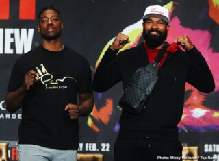 Charles Martin - Fighters stepping into the ring this Saturday, February 22 on the Deontay Wilder vs. Tyson Fury II undercard previewed their respective showdowns at the final press conference Thursday before they step into the ring at the MGM Grand Garden Arena in Las Vegas.
