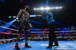 """Deontay Wilder - I don't know about you, but I think perhaps, in light of Deontay Wilder's actions over the weekend – actions that can only be referred to as bizarre, unhinged, and quite disturbing – the very legit question of whether or not Wilder will ever fight again can now be asked. Wilder, as we know, came out with that much-viewed video, in which the former WBC heavyweight champ accused Tyson Fury of """"loading his glove with an egg weight,"""" and of trying to """"weasel out"""" of their contracted third fight."""