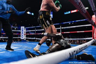 Deontay Wilder - Anthony Joshua politely criticized former WBC heavyweight champion, Deontay Wilder, saying that he hasn't reacted in the right way in response to his seventh-round knockout loss to Tyson Fury earlier this year in February.