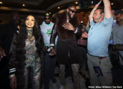 "Charles Martin, Deontay Wilder, Emanuel Navarrete, Gerald Washington, Jeo Santisima, Tyson Fury - WBC heavyweight world champion Deontay ""The Bronze Bomber"" Wilder and lineal heavyweight champion Tyson ""The Gypsy King"" Fury made their grand arrivals Tuesday afternoon at MGM Grand, kicking off fight week events for the most anticipated heavyweight showdown in two decades.'"