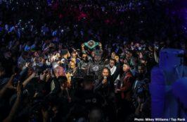 "Charles Martin, Deontay Wilder, Emanuel Navarrete, Gerald Washington, Sebastian Fundora, Tyson Fury - Tyson ""The Gypsy King"" Fury defeated Deontay ""The Bronze Bomber"" Wilder by seventh-round stoppage to capture the WBC Heavyweight Championship Saturday night headlining a historic mega PPV event from the MGM Grand Garden Arena in Las Vegas."