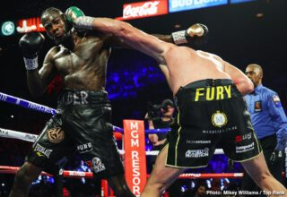 Deontay Wilder - Yet more news has come out regarding Deontay Wilder. And this story is not laced with crazy, weird, and bizarre accusations. As has been reported by Mail Online and in a video uploaded by Barbershop Conversations, the former WBC heavyweight champion has turned down Floyd Mayweather's offer to become his new trainer.