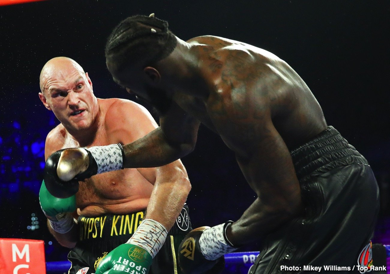 Tyson Fury - In the strong opinion of most, Tyson Fury has proven he is the current best heavyweight in the world today. Fury, unbeaten, dismantled both Deontay Wilder on February 22 and with his win any real argument regarding his big man supremacy. But is Fury, 30-0-1(21) a pound-for-pound fighter?