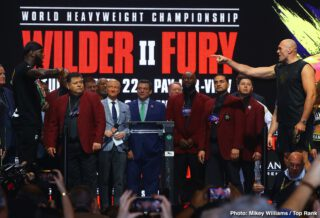 """Deontay Wilder, Tyson Fury - Few things generate excitement like a heavyweight boxing clash - Tonight's bout couldn't set the tone any better, as the world will be treated to an international firefight of epic proportions. On one side, we have the American born and bred, """"Bronze Bomber"""", Deontay Wilder (42-0-1, 41KO's); the other side boasts the UK's """"Gypsy King"""", Tyson Fury (29-0-1, 20KO's). With so many subplots and perspectives to consider, we now take a closer look at each fighters Keys to Victory, Four to Explore (critical game-changers), and an Official Prediction:"""