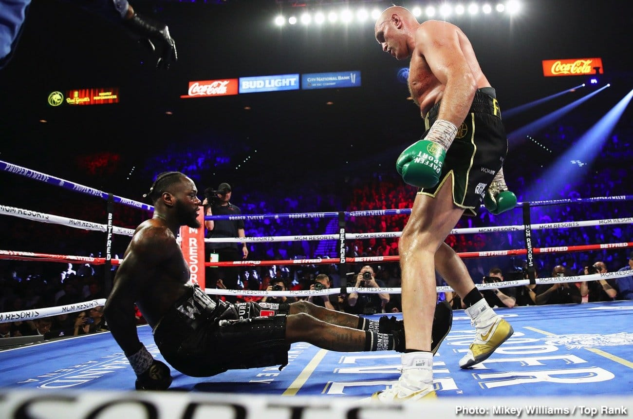 Teofimo Lopez, Tyson Fury - Boxing News