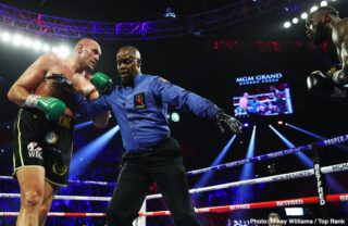 Bob Arum: 'Fury is going to knock Wilder on his a** quicker this time'