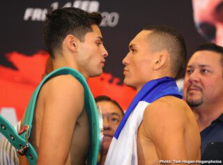 Jorge Linares - Rising lightweight sensation Ryan Garcia (19-0, 16 KOs) and Nicaraguan contender Francisco Fonseca (25-2-2, 19 KOs) hosted their final press conference today at the Honda Center ahead of their 12-round title fight for the WBC Silver Lightweight Championship.