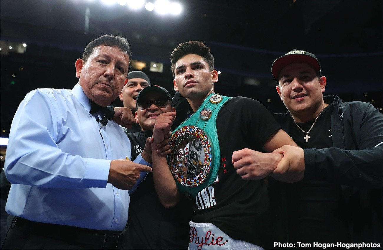 Ryan Garcia Vs Luke Campbell Lands In Dallas Texas Boxing News