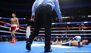 Jorge Linares - Ryan Garcia has given up on the idea of fighting Jorge Linares due to the former three-division world champion unable to travel to the U.S to face him.