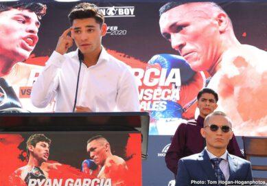 Blair Cobbs Carlos Morales Francisco Fonseca Jorge Linares Oscar De La Hoya Ryan Garcia