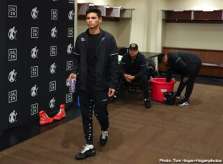 DAZN, Ryan Garcia - Gervonta Davis took a shot at Ryan Garcia on social media on Tuesday in trashing him after learning that negotiations for his July 4 fight on DAZN fell apart after the streaming giant offered Ryan $200,000. Sports Illustrated is reporting that Ryan, 21, was offered only $200K for the July fight.