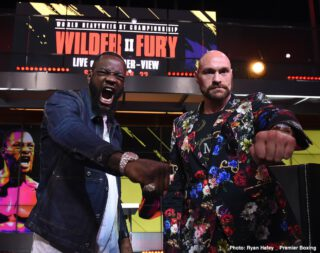Deontay Wilder - It's looking as though Tyson Fury and Deontay Wilder will have to wait until a few days before the Christmas holidays before they can settle their rivalry. For although many fans feel Fury has already proven he is the superior fighter of the two - what with his display in the drawn fight making many feel he actually won, and then the total hammering Fury dished out on Wilder in the rematch leaving no doubt - the third fight is contracted and will go ahead.