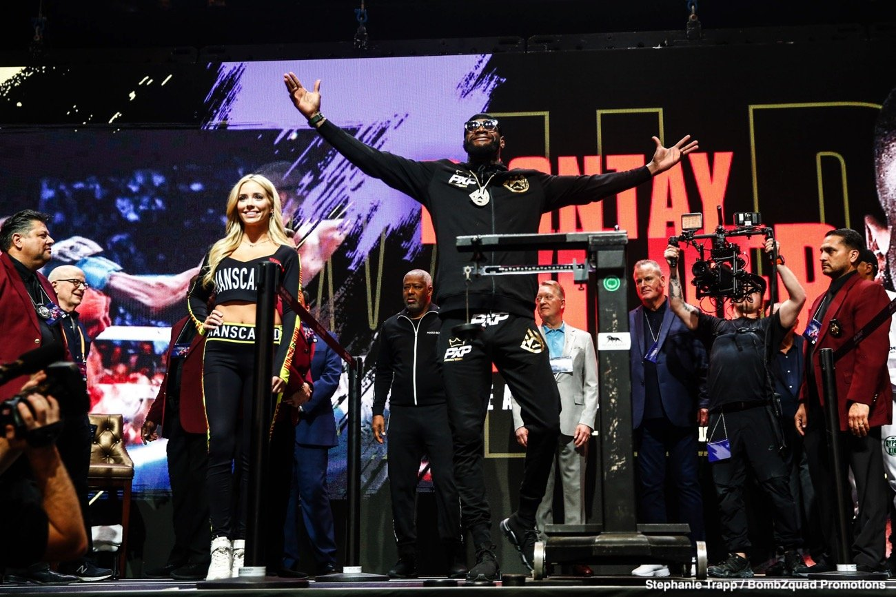 Anthony Joshua, Deontay Wilder, Tyson Fury - Boxing News