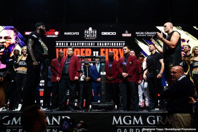Amir Imam, Charles Martin, Deontay Wilder, Emanuel Navarrete, Gerald Washington, Jeo Santisima, Subriel Matias, Tyson Fury - Boxing News