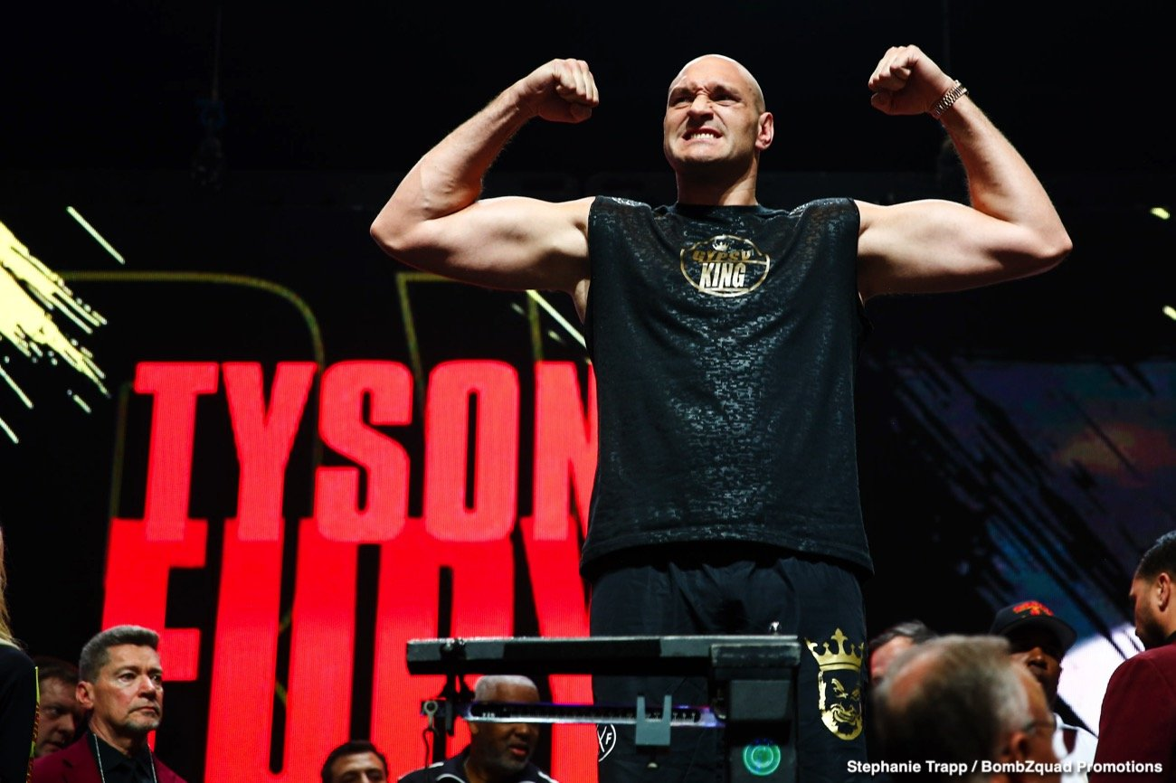 Anthony Joshua, Deontay Wilder, Tyson Fury - Lineal Heavyweight Champion of the World Tyson Fury has today poured praise on Hall of Fame promoter Frank Warren, declaring him his 'magic man'.