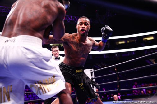 """Abel Ramos, Bryant Perrella, Caleb Plant, Vincent Feigenbutz - Fighting in front of a raucous hometown crowd for the first time in his professional career, undefeated IBF Super Middleweight World Champion Caleb """"Sweethands"""" Plant (20-0, 12 KOs) put on a show."""