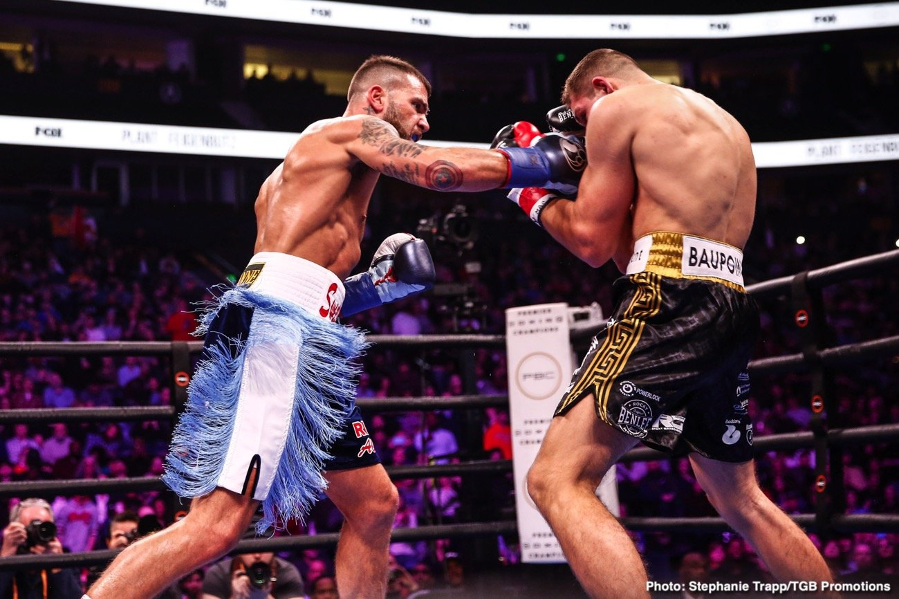 "Caleb Plant - Fighting in front of a raucous hometown crowd for the first time in his professional career, undefeated IBF Super Middleweight World Champion Caleb ""Sweethands"" Plant (20-0, 12 KOs) put on a show."