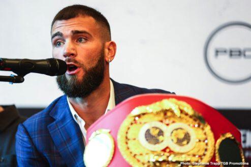 Caleb Plant, Vincent Feigenbutz - Boxing News